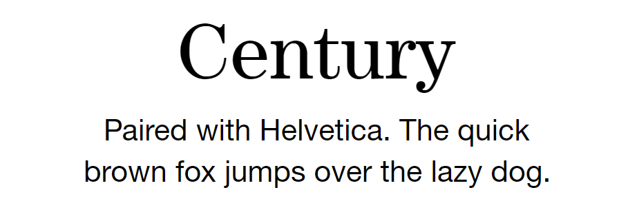 Century_Font_Paired_with_Helvetica_